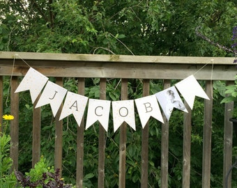 Custom Banner - Garland - Party Banner - Bunting Banner - Party Decoration