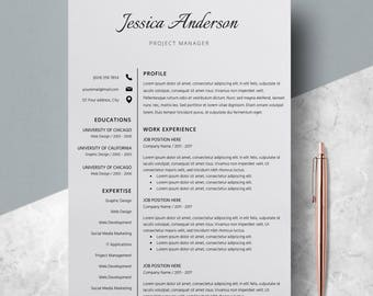 modern resume template word cv template word resume cv template professional cv layout