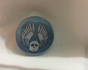 Badge - Snowy Owl - 35mm