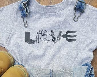 Horse Love Farm Shirt