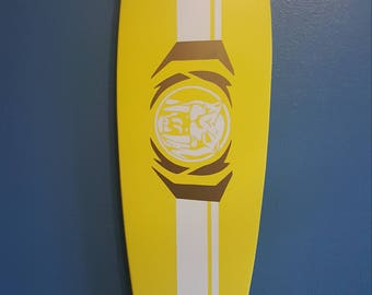 Yellow Ranger Longboard