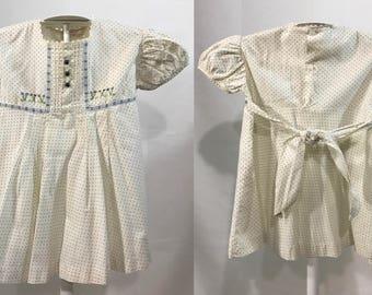 1960-70's | June Preston Loomcraft | baby girl dress