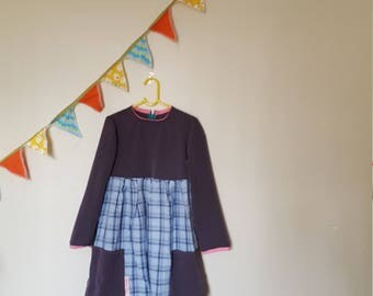 Gorgeous upcycled girl's dress size 5-6