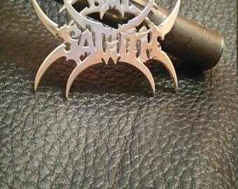 Bal Sagoth -metal band - Silver pentant rare