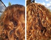 Simply Hair Gel- Organic, Curl Defining Gel, Natural Curls, Moisturizing Gel, Naturally Curly, Wavy Hair, Frizz Free, Flax Seed,8.4 oz