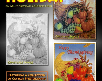 New Creations Coloring Book Series:  HOLIDAY