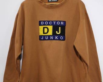DJ DOCTOR JUNKO by Junko Koshino Sweathirt Jumper Japan Vintage