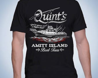 Movies - Quint's Boat Tours (Men's/Ladies/Kids/Hoods) - Jaws