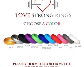 Women's High Quality Silicone Wedding Ring Band