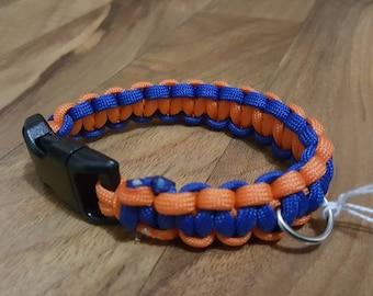 Paracord dog collar