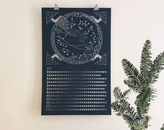 2018 Lunar Calendar - Celestial Zodiac