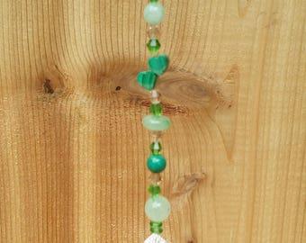 rainbow suncatcher crystals prism rearview mirror crystals beads window hanger