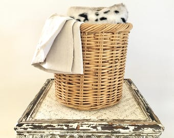 Vintage storage or plant basket