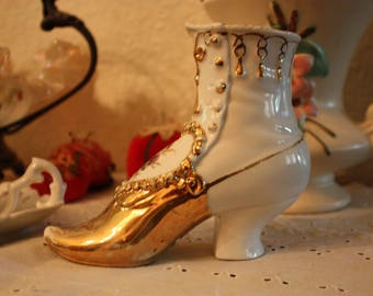 Antique Porcelain Shoe