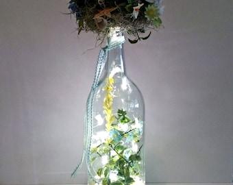 Seashells and Flowers Bouquet LED Light