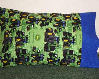 JOHN DEERE TRACTORS pillow case