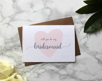 Will You Be My Bridesmaid Card - Will You Be My Bridesmaid - Will You Be My Maid of Honour - Will You Be My Flower Girl - Bride Tribe Card