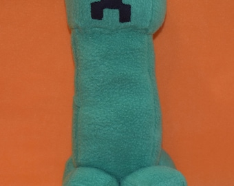 Minecraft handmade creeper plush