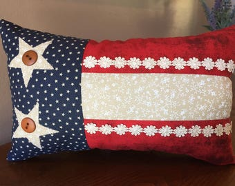 Americana Flag Pillow
