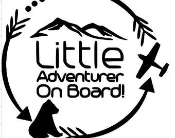 little adventurer decal bear plane