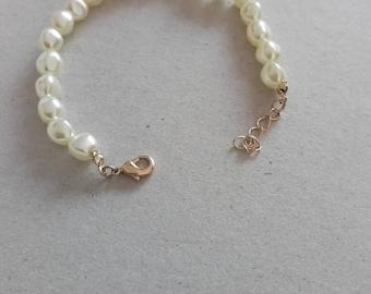 VINTAGE  bracelet pearl , style 1930