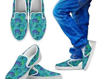 Custom Shoes - Kids slip on - Ella Fun