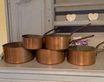 french copper french copper pans french country copper pans pots and pans