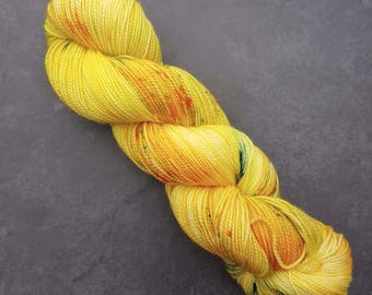 Let the Sunshine In ~ Bardot ~ Merino Nylon High Twist Sock Yarn