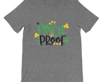 St Patrick's Day Pinch Proof T-Shirt | Perfect Irish Shirt | St Paddys Day Gift | I Love Shamrocks Tee Shirt | St. Patrick's Graphic T-Shirt