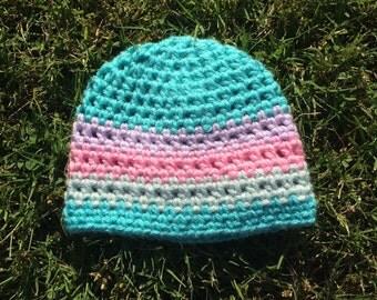 Newborn Striped Hat