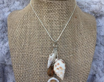 Seashell Necklace, Sea Shell Necklace, Beach Necklace, Shell Necklace,  Handmade Necklace, Seashell Jewelry, Beach Jewelry, Handmade Jewelry