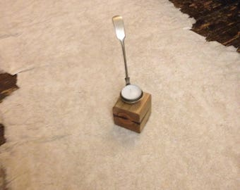 Silver Ladle Tealight Holder