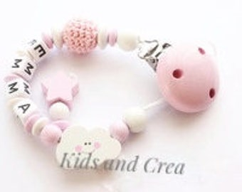Pacifier pacifier clip personalized