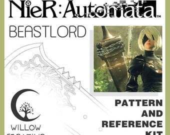Beastlord weapon reference kit - NieR:Automata