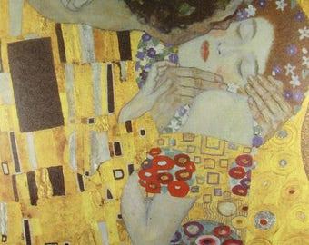 Klimt, Gustav Klimt  Print, Klimt Art Print, Klimt Paintings, Vintage Book Page Print, Home decor, Wall decor, Vintage