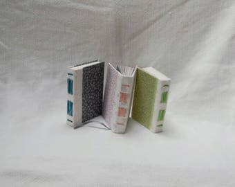 A6 Long Stitch Pink Floral Notebook, Journal, diary