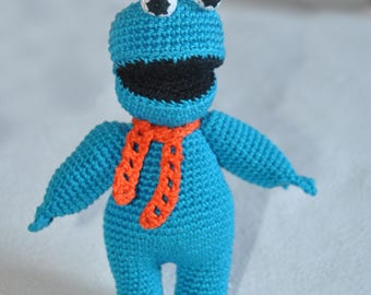 Cookie Monster / Sesame Street / crochet / toy
