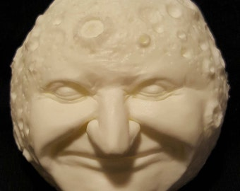 The Man in the Moon Magnet - Unpainted - FREE DOMESTIC SHIPPING