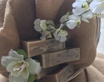 Green Tea-Tree Cleansing Soap Bar