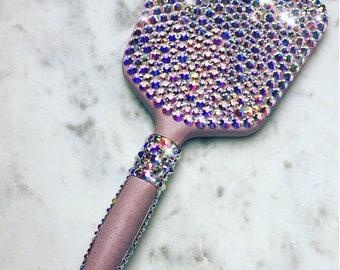 Glam Rhinestone Vanity Handheld Mirror