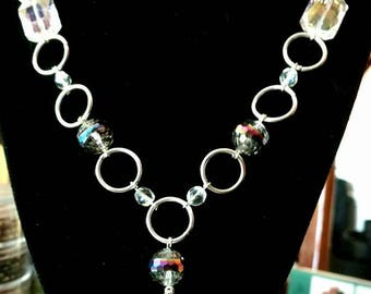 Silver and Glass Chain