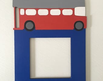 Transport Train Bus Light Switch Surround Frame