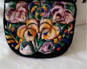 Bohemian purse, coin purse, coin wallet, festival bag, gypsy, hippy