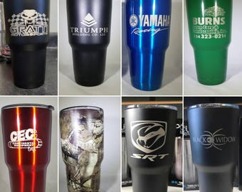 Personalized Thermos Large Cup Tumbler Coffee Custom Travel Mug Cup 30 oz Stainless Steel with lid Double Wall vacuum seal