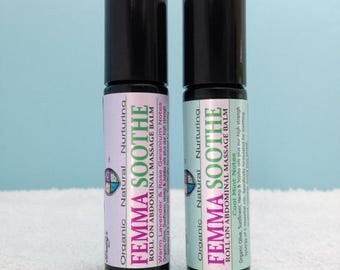 Period Pain Aromatherapy oil, Roll on, 10ml