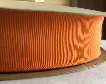 Vintage Orange Ribbon