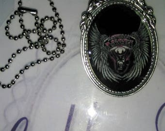 Asphalt Angel Logo Necklace