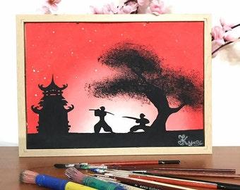 "Musashi and Kojiro ""Glow in the dark"""