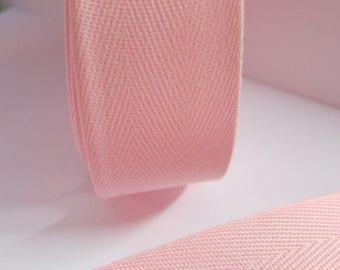 Ribbon Twill Rose 32.5 mm
