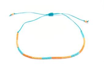 Shaman - Miyuki beads turquoise Friendship Bracelet
